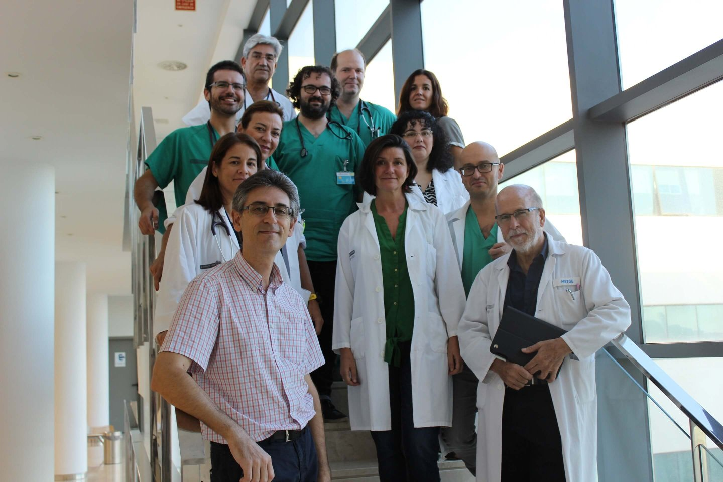 Photo of the research group Clinical research in chronic diseases and HIV Infection