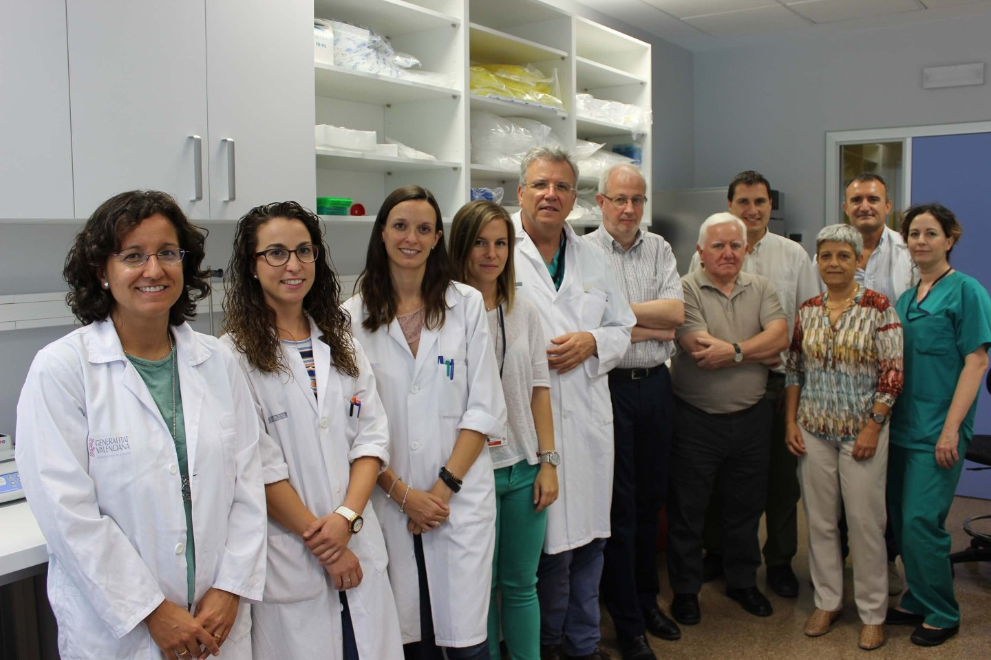 Photo of the research group Joint research unit in nanomedicine and sensors