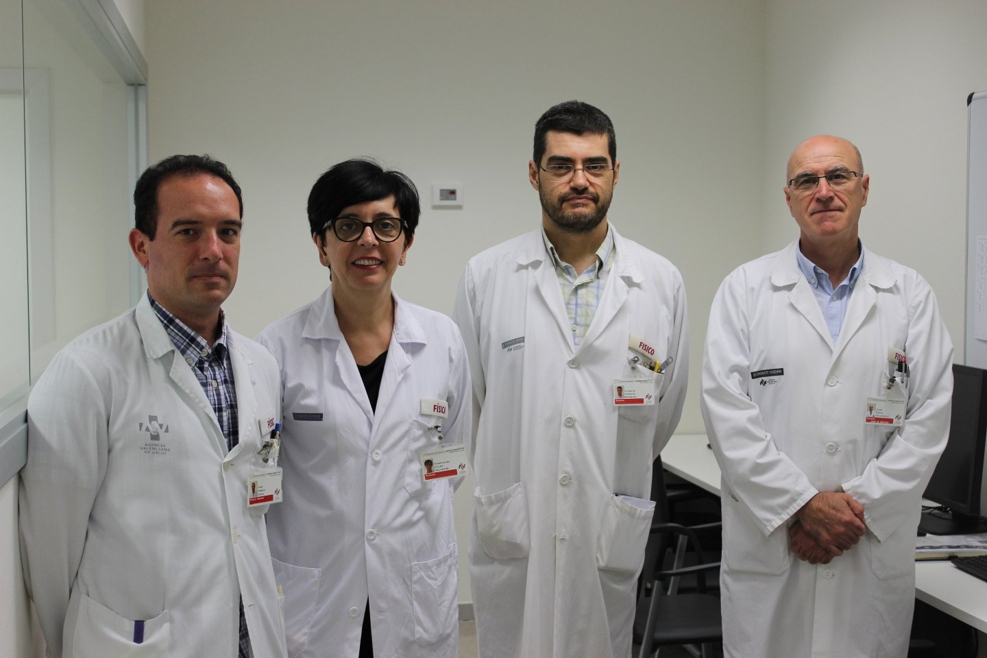 Photo of the research group Joint research unit in radiophysics and nuclear instrumentation in medicine.