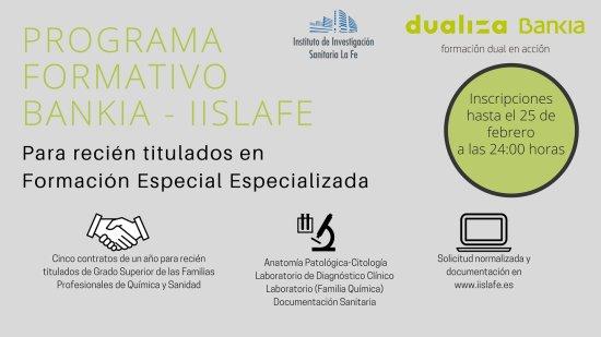 Programa formativo Bankia para técnicos superiores de FP Bankia-IIS ...